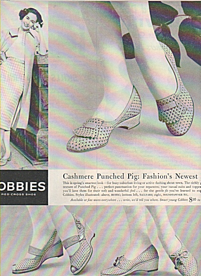 Cobbies shoes -  United States shoe corp. ad 1957 (Image1)