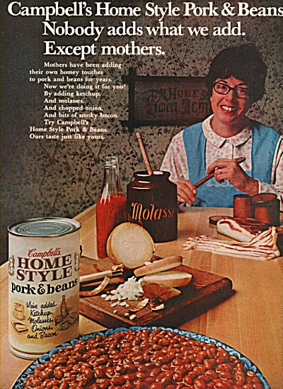 Campbell's home style pork & beans ad 2970 (Image1)