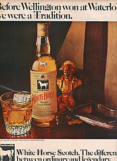 White Horse Scotch ad 1970 (Image1)