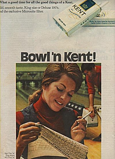 Kent cigarettes ad 1972 (Image1)