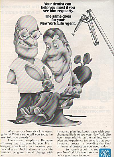 New York Life Co., ad 1972 (Image1)