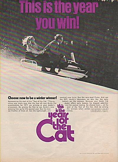 Arctic Cat snow mobile ad 1970 (Image1)