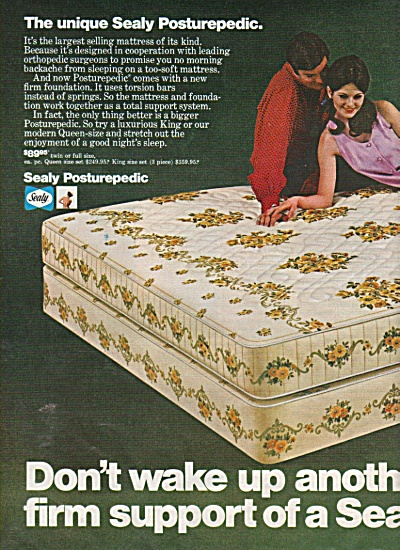 Sealy mattress ad 1970 (Image1)