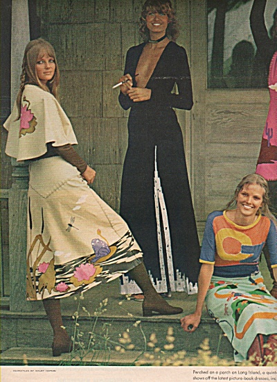 Clothes that tell a Story-Models Spread 1970 (Image1)