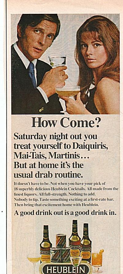 Heublein cocktails ad 1970 (Image1)