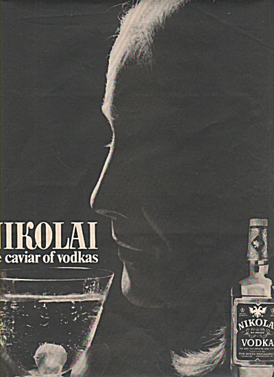 Nikolai Vodka Ad 1970