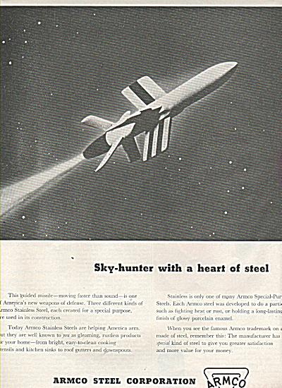 Armco steel corporation ad 1952 (Image1)