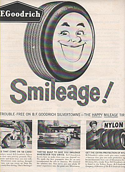 B. F. Goodrich tires ad 1958 (Image1)