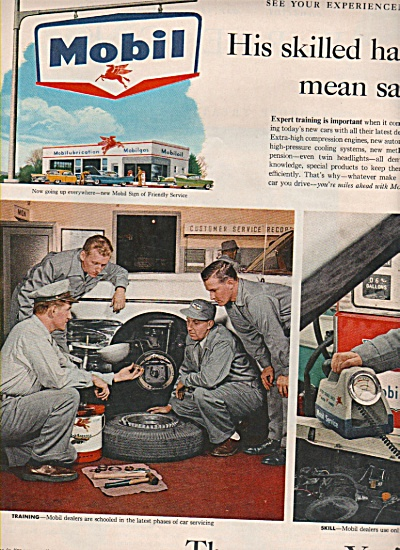 Mobilgas - Mobil oil ad 1958 (Image1)