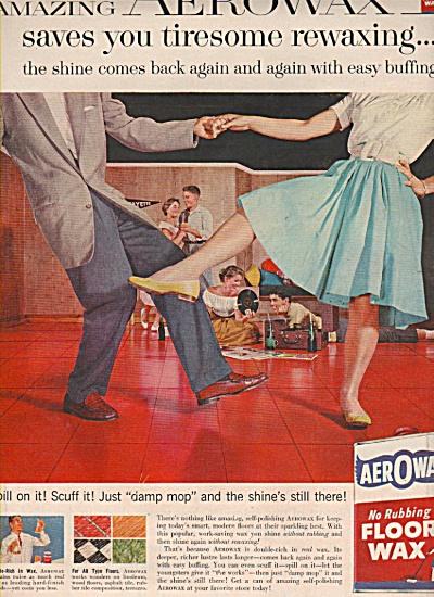Aerowax floor wax ad 1958 (Image1)