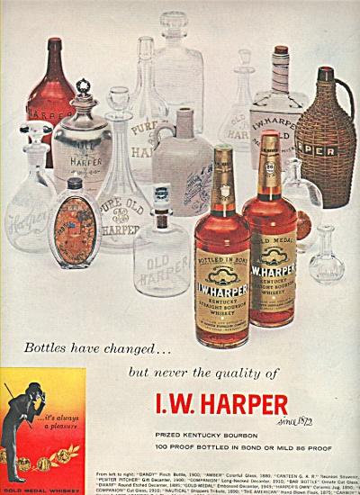 I. W. Harper bourbon ad 1958 (Image1)