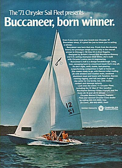 Chrysler Marine products ad 1971 (Image1)