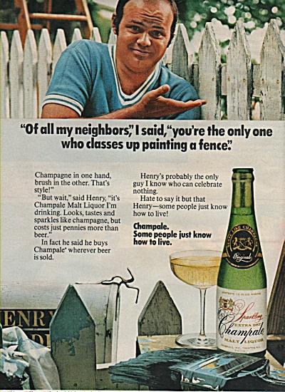 Champale malt liquor ad 1971 (Image1)