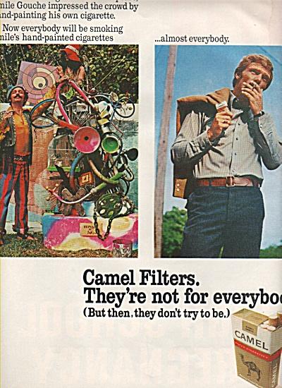 Camel filter cigarettes ad 1971 (Image1)