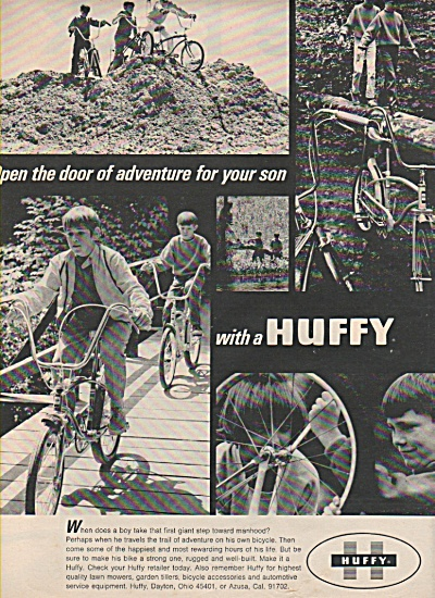 Huffy bicycles ad 1970 (Image1)