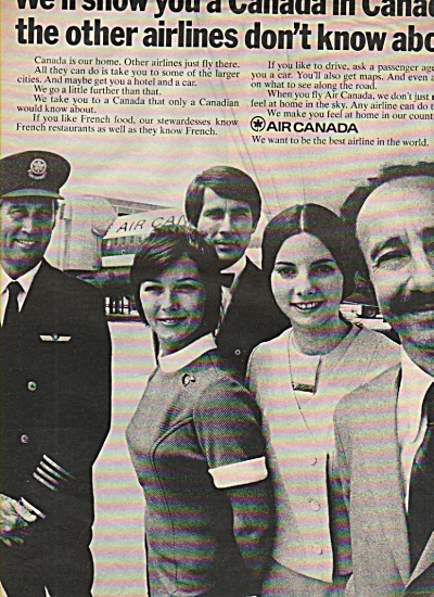 Air Canada ad 1970 (Image1)