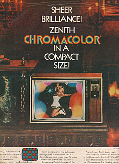 Zenith television ad 1970 (Image1)