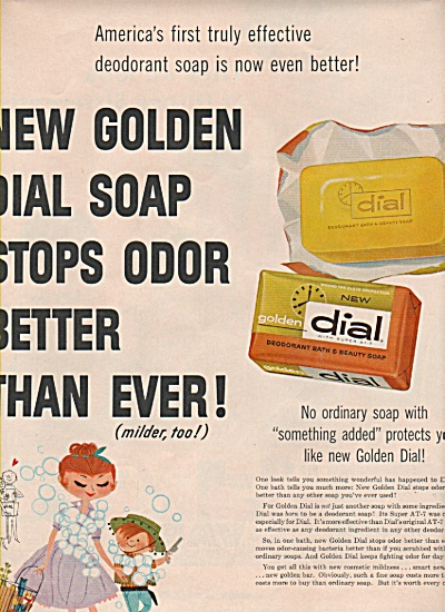 Dial bath & beauty soap ad 1957 (Image1)