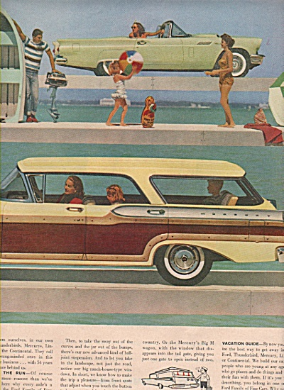 Ford Motor company ad 1957 (Image1)