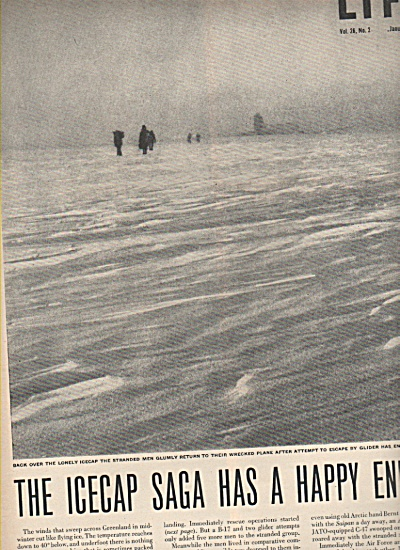 The Icecap Saga in Greenland story 1949 (Image1)