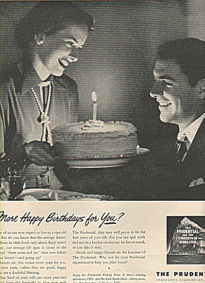 The prudential insurance company ad 1949 (Image1)