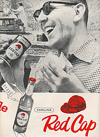 Carlings REd Cap ale ad 1957 (Image1)