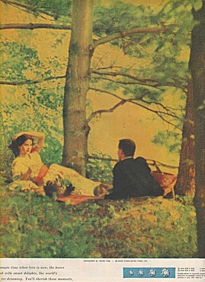 DeBeers diamonds  ad 1957 (Image1)