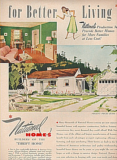 National Homes corporation ad 1949 (Image1)