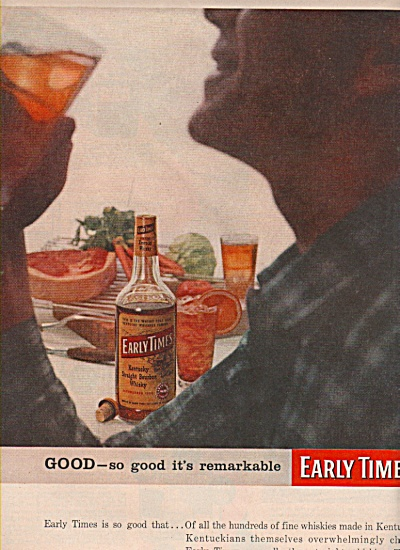 EarlyTimes  whiskey ad 1957 (Image1)