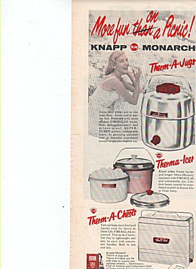 Knapp-Monarch therma jugs, icer, therma a chests ad (Image1)