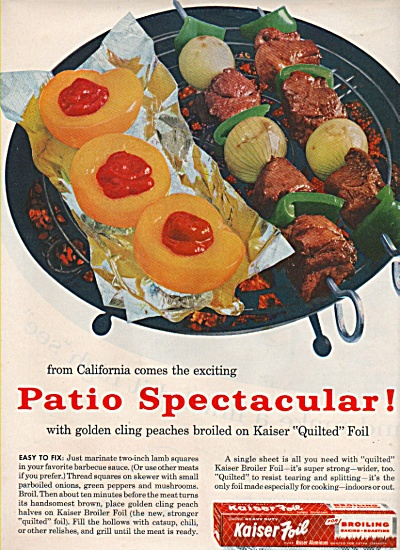 Kaiser  quilted foil ad 1957 (Image1)