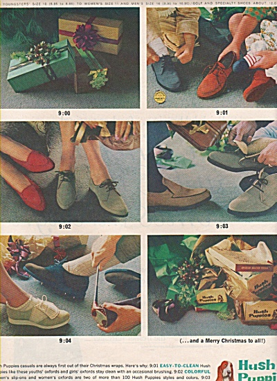 Hush Puppies shoes ad 1962 (Image1)