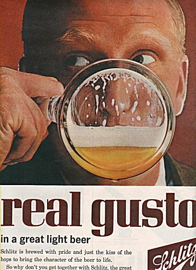 Schlitz beer ad 1962 (Image1)