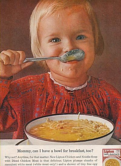 Lipton chicken noodle soupmix ad 1962 (Image1)