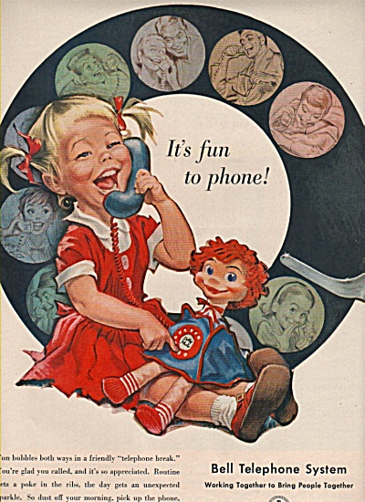 Bell telephone system ad 1958 (Image1)