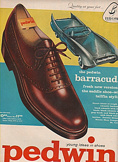 Pedwin shoes ad 1958 (Image1)