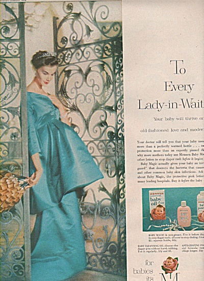 Mennen baby products ad 1958 (Image1)
