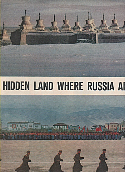 Hidden land where RUSSIA  and CHINA  square off. 1962 (Image1)