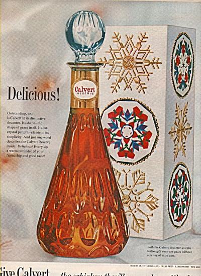 Calvert reserve ad 1962 (Image1)