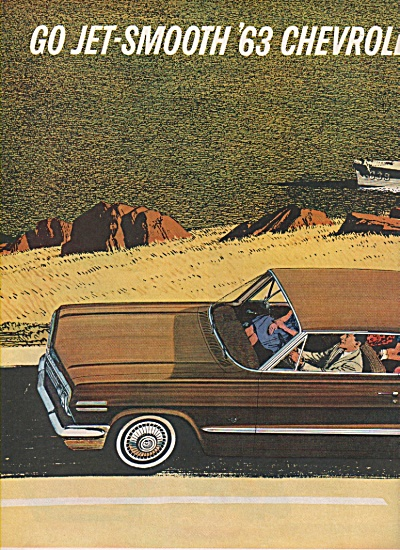 Chevrolet auto for 1963 ad (Image1)