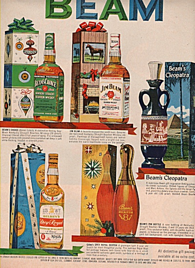 Jim Beam bourbon ad 1962 (Image1)