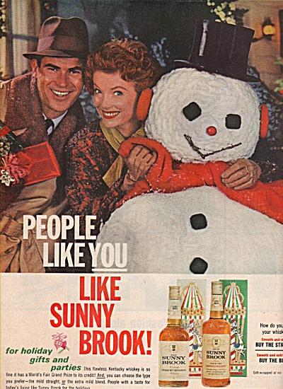 Sunnybrook whiskey ad 1962 (Image1)