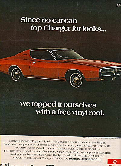 Dodge Charger  auto ad 1972 (Image1)