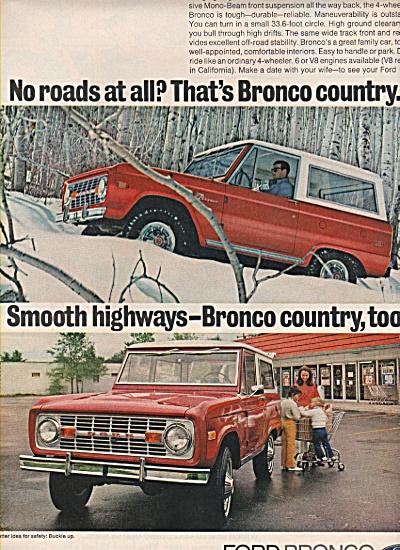 Ford Bronco ad 1972 (Image1)
