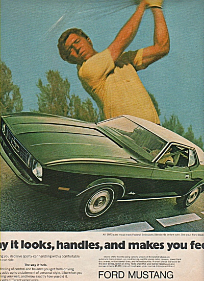 Ford mustang ad 1972 (Image1)