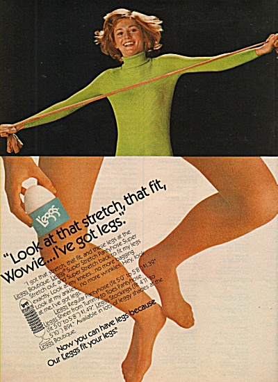 Leggs stockings ad 1972 (Image1)