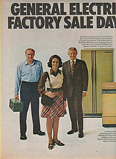 General Electric appliances ad 1972 (Image1)