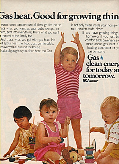 American Gas Association Ad 1972