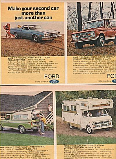 Ford Motoro cars ad  1972 (Image1)