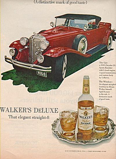 Walker's deluxe bourbon ad 1972 (Image1)